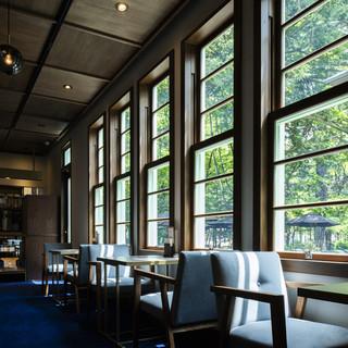 ☆有形文化財の中のフォトジェニックなカフェ