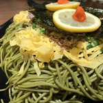 たかせ - 錦糸卵、牛肉、葱、海苔