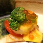 ぎおん 佐藤 - ホタテとトマトの酢のもの