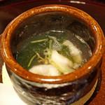 89075101 - 鱧と新じゅん菜のスープ