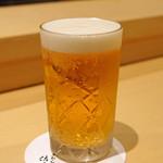 ぎおん 佐藤 - ビール
