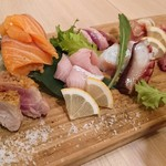 肉寿司 薪焼き キッチンひろ - 名物HIRO盛り(1780円)