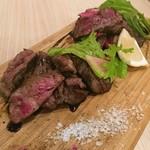 肉寿司 薪焼き キッチンひろ - ヒウチ(値段忘れた)