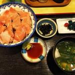 魚玉 - 鉄火丼定食(¥850)