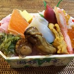 雑魚亭 - 雑魚亭の海鮮丼