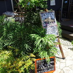 cafe蘖 - 看板