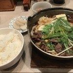 伊々 - 肉鍋 800円♪