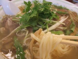 京の華 - 搾菜牛肉麺