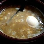 89080131 - 味玉ちゃーしゅーつけ麺のつけ汁