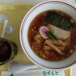 女体山展望パーラー - 女体山ラーメン720円