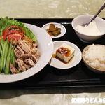 江南苑 - ランチセット冷やし坦々麺