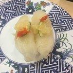 廻転寿司 海鮮 - 肝付かわはぎ