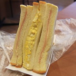 亀十パン - 料理写真:タマゴサンド 220円
