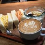 フェブラリーカフェ - 数量限定サンドイッチランチ