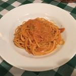 ラ クッチーナ ビバーチェ - 生うにのトマトクリームソース
