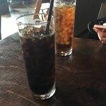 アメニテ ギンザ - セットのドリンク アイスコーヒーとアイスティー