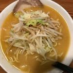 麺屋 虎司 - 味噌ラーメンアップ上