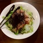 ざしき笑し - 豆腐サラダ