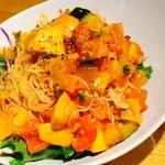 バルバル - 夏野菜トマトと和出汁で煮込んだ 冷製カッペリーニ
