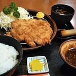 とんかつ とん平 - ジャンボロースカツ定食(220g)♪