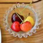 ハタケカフェ - キッズランチにはフルーツ付き