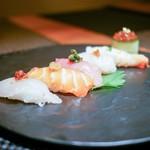 RAKUSUI - ・お寿司のような お刺身サラダ
