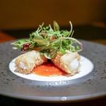RAKUSUI - ・フランス料理のような海老チリ