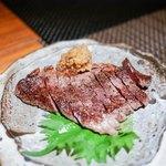 RAKUSUI - ・黒毛和牛のグリル 1600円