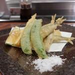わだのや - 稚鮎と旬菜の天ぷら