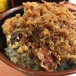 天ぷら 豊野 - かきあげ丼