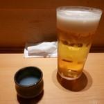 89089943 - 【生ビールとシジミの出汁】2018/6