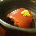 板前料理いち川 - 鮪刺身、葱トロ