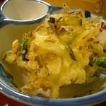 板前料理いち川 - 野菜かき揚げ