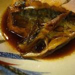 板前料理いち川 - 煮魚(鯖)