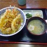 食事処 白帆 - しまえび天丼