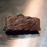 くずし鉄板 あばぐら - 2018.7 黒毛和牛ステーキ