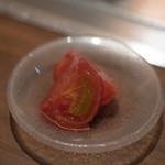くずし鉄板 あばぐら - 2018.7 フルティカトマト