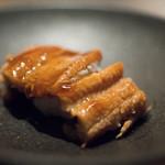 くずし鉄板 あばぐら - 2018.7 長崎産 穴子寿司