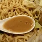 煮干し中華そば 一剣 - ドロッとした味噌スープ!