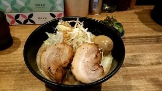 煮干し中華そば 一剣 - 濃厚味噌ラーメン700円+ニラ100円!