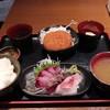 明石八 - 料理写真:刺身定食(540円)