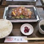 肉料理 やきすき やんま - トンテキ定食