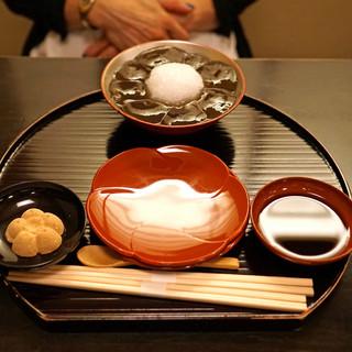 ぎおん徳屋 - 料理写真:徳屋の本わらびもち