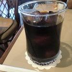 カフェ・ド・クロワッサン - アイスコーヒー
