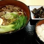 三商巧福 - ランチ『牛肉麺 セット』¥847-