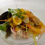 レストラン ラ・カンサトゥール - 前菜1
