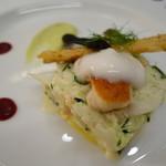 レストラン ラ・カンサトゥール - 前菜2
