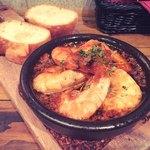 北海道キッチン Bakurico - 殻ごと食べられる海老のチリージョ