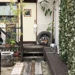 カフェ ガーランド - 鶴林寺の南の住宅地にあるお家カフェです(2018.7.12)