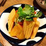 魚屋みらく劇場 - 夏野菜のマリネ